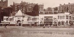 Old photo of Catlin's Arcadia and Palladium Picture House in Scarborough