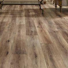 Mannington Restoration Wide Plank x x Laminate Flooring in Brushed Coffee - Modern Wood Laminate, Plywood Floors, Plywood Furniture, Concrete Furniture, Furniture Design, Furniture Decor, Engineered Bamboo Flooring, Ceramic Flooring, Home Decor