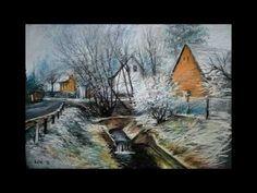 Fények - Innen -  Onnan - Máté Sándor festményei