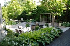 """""""If storage isn't easy and integrated, your stuff will be in the way. Cushions will be inside and never used, or you will be running an obstacle course trying to get at your gardening tools,""""  says landscape architect Myke Hodgins ofHodgins and Associates. 