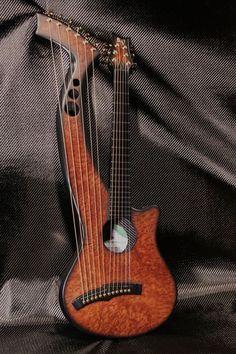 The Synergy Harp Guitar!