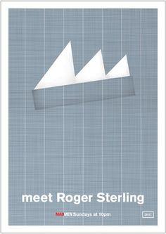 #RogerSterling #madmen