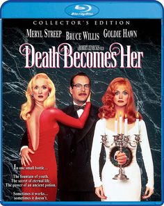 DEATH BECOMES HER COLLECTOR'S EDITION SCREAM FACTORY BLU-RAY