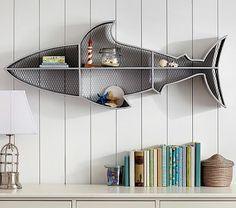 Shark Decor for Bedroom Fresh 25 Best Shark Decorations Images In 2016 – Babyzimmer Shark Nursery, Shark Room, Wall Shelf Decor, Wall Shelves, Shelving, Shark Bathroom, Bathroom Kids, Kids Bath, Kids Room Shelves