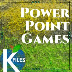 PowerPoint games for the primary grades. TheKausFiles.blogspot.com Powerpoint Games, Primary Classroom