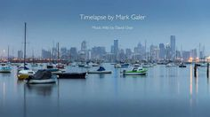 Time Lapse of Melbourne from Williamstown Photoshop Essentials, Video Capture, Sony A7s, New York Skyline, Melbourne, Photography, Travel, Image, Videos