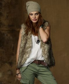 Love this vest. Ralph Lauren Denim &Supply.