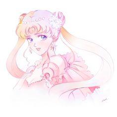 Princesa Serenity, Sailor Moon Aesthetic, Anime Characters, Fictional Characters, Me Me Me Anime, Full Moon, Moonlight, Princess Zelda, Fan Art