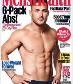 Nfl'S danny amendola shows off ripped abs for 'men's health' Men's Health Magazine, Fitness Magazine, Fitness Before After, Danny Amendola, Build Muscle Fast, Beat Diabetes, Basketball Workouts, Logo Design, Athletic Men
