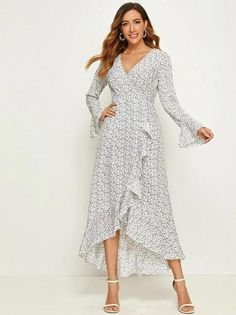 Clothes for Women Dress Outfits, Casual Dresses, Fashion Outfits, Maxi Dresses, Trendy Fashion, Wrap Dresses, Fashion Black, Fashion Fashion, Fashion Ideas