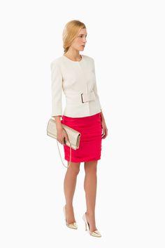 Giacca con fascia - CAPISPALLA su Digital Store ELISABETTA FRANCHI - la Boutique online ufficiale 409