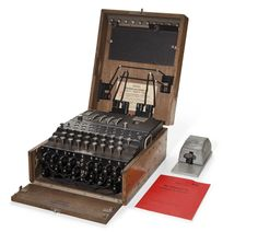 Christie's Auctions - Enigma Machine Enigma Machine, Bletchley Park, Code Breaker, Security Screen, Alan Turing, Metallic Paint, Trondheim Norway, Coding, Milton Keynes
