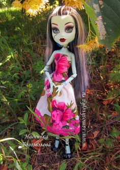 Tutorial and free pattern for Monster High dress
