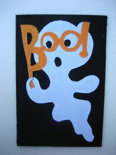 halloween quilted postcards | Halloween quilts - a gallery on Flickr