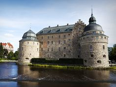 Of all the castles in Sweden, Orebro is definitely one of the most endearing
