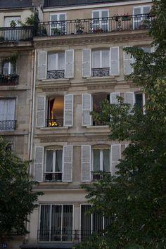 Paris: apartment building in the Marais