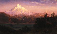 Albert Bierstadt-MountHood 1869   Portland Art Museum