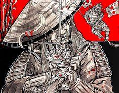 "Check out new work on my @Behance portfolio: ""The Samurai's Blade"" http://be.net/gallery/47382855/The-Samurais-Blade"