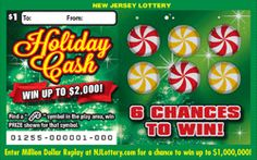 Holiday Cash: More Than $5 Million in Prizes. Approximately 9,120,000 Holiday Cash tickets are initially planned in this game. To learn more about this game, which debuted on November 3, 2014, click on the image.