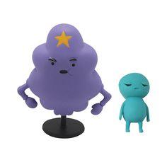 "Amazon.com: Adventure Time 3"" Lumpy Space Princess with Brad: Toys & Games"