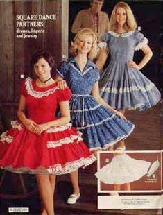 Square Dance dresses. My latest obsession.