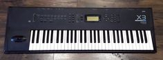 Korg X3 Synthesizer Music Workstation 61 Key 16 Track Sequencer 200 Programs X 3 #Korg