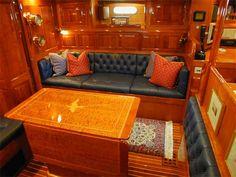 Hinckley Yacht Cushions By Ocean Tailors Cape Cod Ma