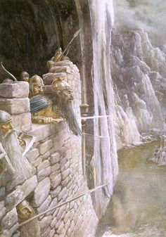 The Siege of Erebor by Alan Lee