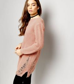 21af85e257a92 Cameo Rose Pink Cable Knit Bardot Jumper Dress