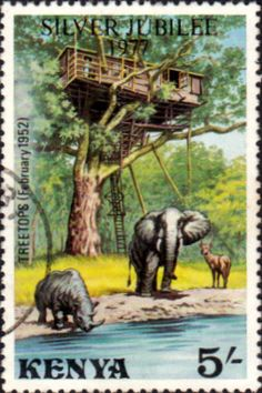 Postage Stamps Kenya 1977 Silver Jubilee SG 92 Fine Mint Scott 85 Other Kenya… Old Stamps, Postage Stamp Art, African Elephant, Stamp Collecting, Mail Art, Coat Of Arms, Kenya, Vintage Posters, East Africa