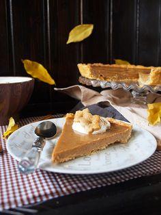 Jaleo en la Cocina: Muy del otoño estadounidense: tarta de calabaza