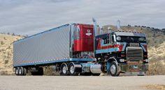 Custom Freightliner from 10-4 Magazine