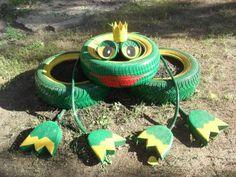 Nosso parque infantil e um jardim com artesanato! - Ideidetsploshad.info
