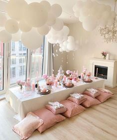 Sleepover Birthday Parties, Picnic Birthday, Birthday Party Decorations, Party Themes, Bachelorette Slumber Parties, Elegant Birthday Party, Valentine Decorations, Brunch Party, Spa Party