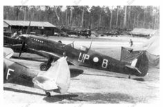 81687ecbf8e Spitfire mk VIII UP-B at Pitoe Strip