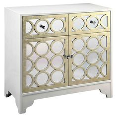 Marilyn Cabinet <3 #white #gold