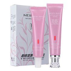 MeiFuBao Moisturized Natural Skin Color BB&CC Cream – USD $ 25.99 Foundation Online, Cc Cream, Natural Face, Moisturizer, Bb, Lipstick, Nature, Stuff To Buy, Naturaleza