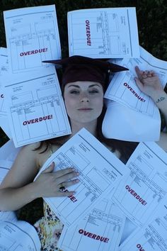 This College Student's Grad Pictures Show Her Literally Drowning In Debt - BuzzFeed News