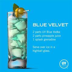 UV Blue Velvet