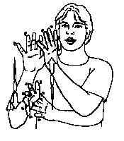 Car Auto Deutsche Gebärdensprache DGS Gebärdensprache - Car sign language