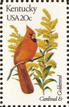 images of usa state birds postage stamps - Google Search