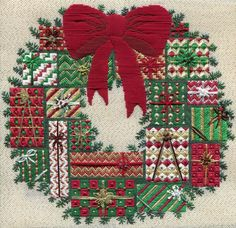 I've been stitching as fast as I can to finish this new pattern in time for the holidays, so now I can finally share it with you!   It's cal...
