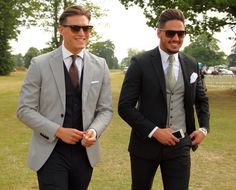 Mario Falcone and Charlie Sims