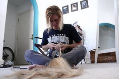 Tips for adding Hair Extensions to Your Salon. How to Start a Hair Extension Business. #salontips #beautybiz