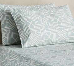 Grayson Geo Printed Sheet Set #potterybarn
