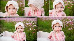 Okinawa Baby Photographer vintage bonnet