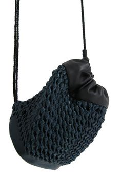 Knotted bag by Eva Pannecoucke