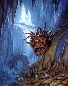 Contemplador... es un ser monstruoso y malvado de excepcional inteligencia, muy agresivo y avaricioso.