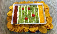 Snack stadium for Super Bowl