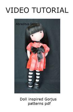 Muñeca Susan inspirada en las Gorjuss - Hacemos el cuerpo